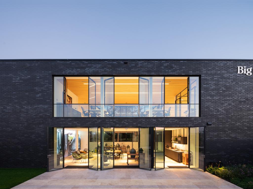 Archidat architectuur projecten big green egg europe type